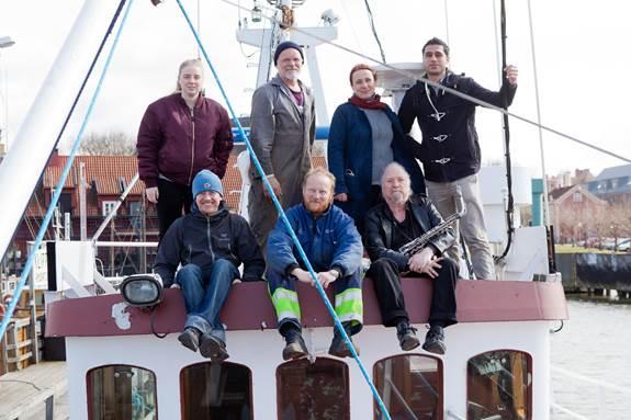 Aktivistene fra Ship to Gaza Sweden (foto: Thomas D Johansson)